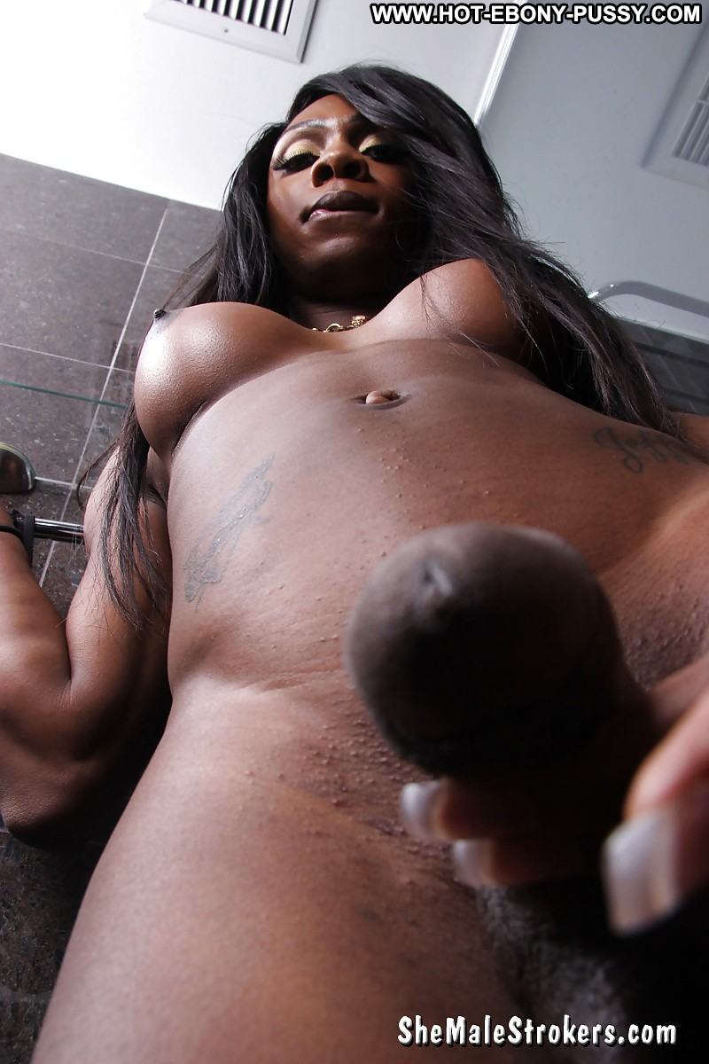 Ebony shemale long vids