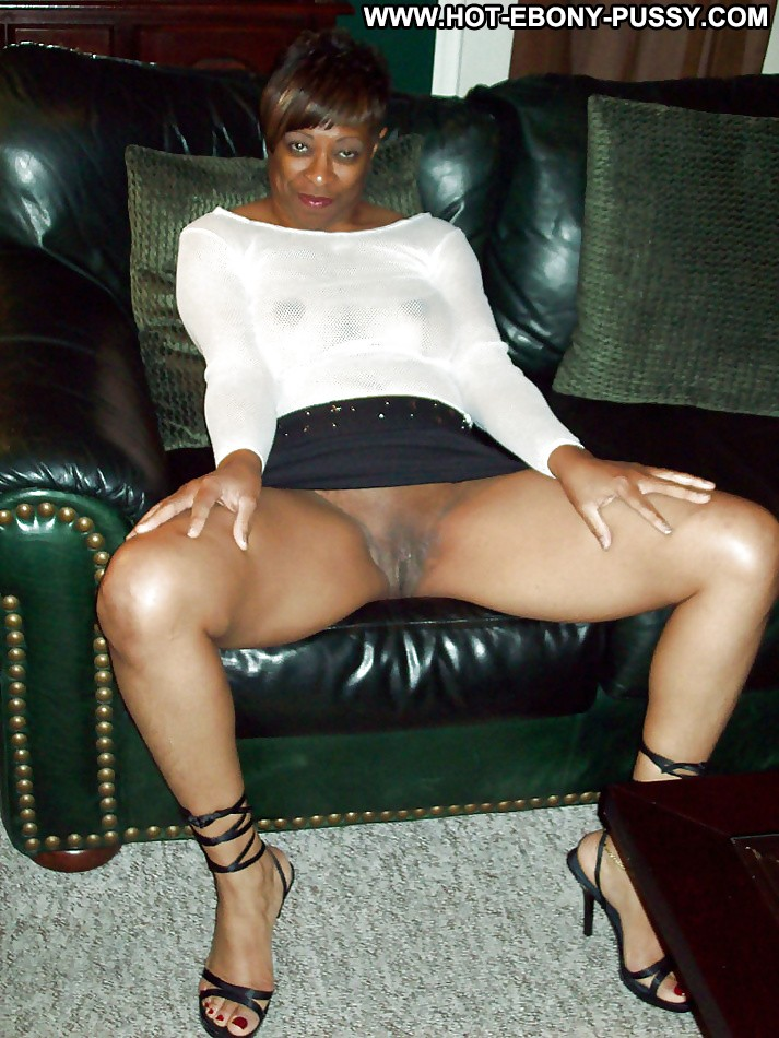 Black lady upskirt